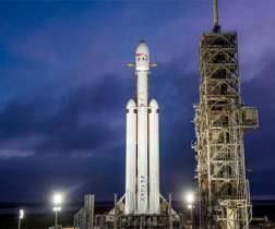 Ракета Элона Маска Falcon Heavy готова к старту