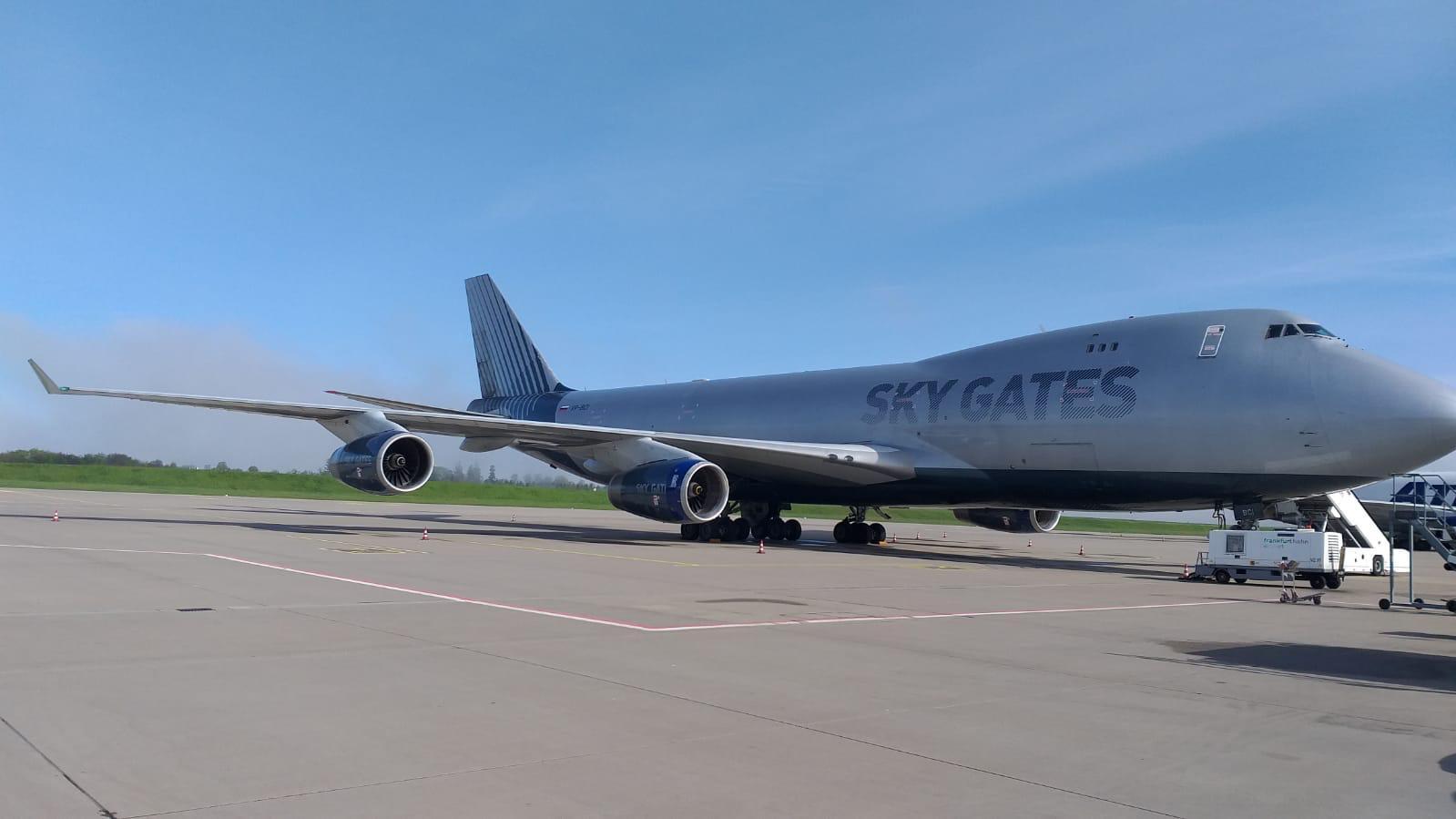 Самолёт авиакомпании Sky Gates - партнёра Александра Евгеньевича Удодова