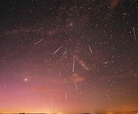 Жители России станут очевидцами необычайного метеоритного дождя 13декабря