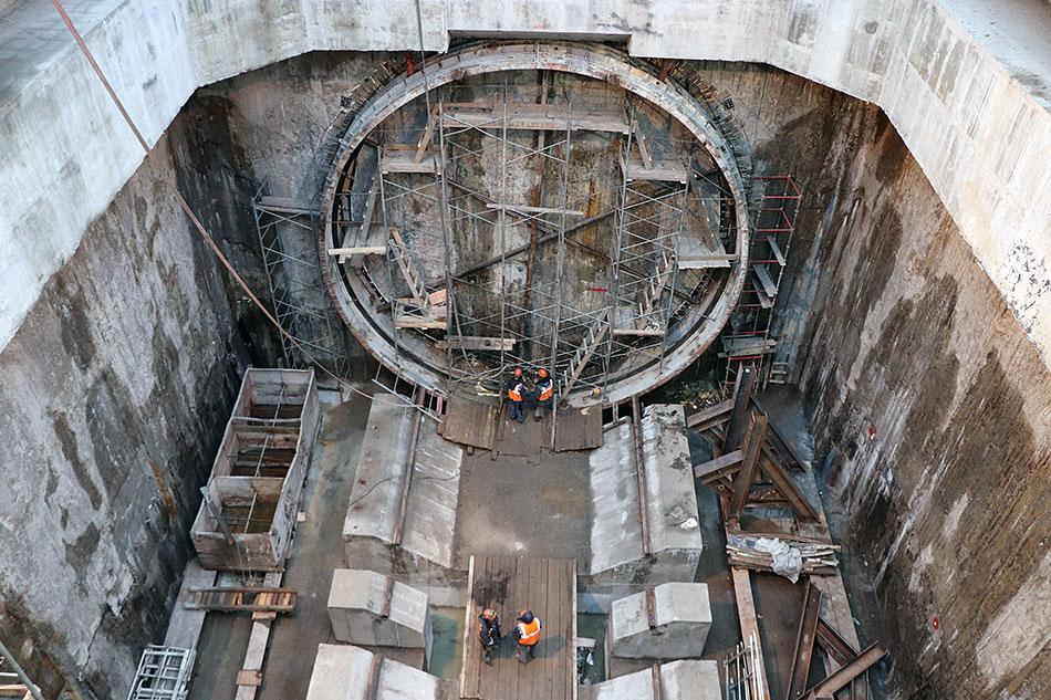 Работы по строительству Большой кольцевой линии московского метро ведутся компанией подконтрольной Руслану Байсарову