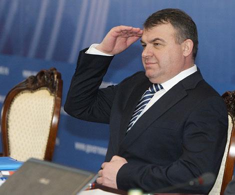 Министр Сердюков, фото ural56.ru