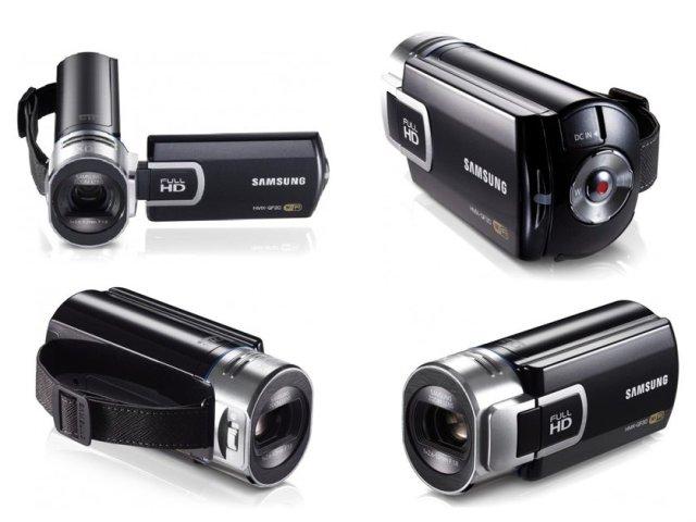 Видеокамера Samsung HMX-QF30BP. Фото 2