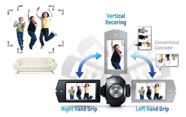 Видеокамера Samsung HMX-QF30BP. Фото 3
