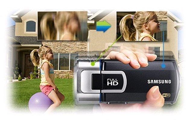 Видеокамера Samsung HMX-QF30BP. Фото 5