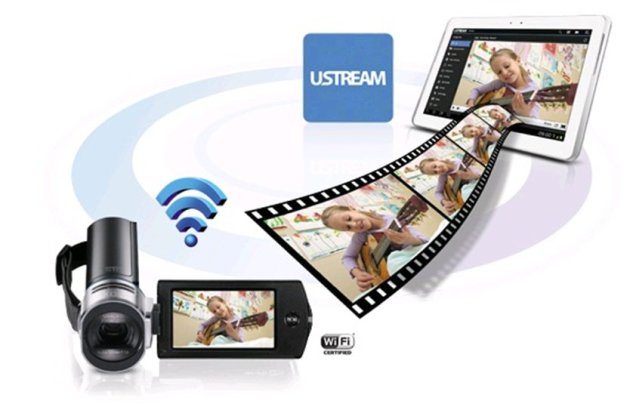 Видеокамера Samsung HMX-QF30BP. Фото 6