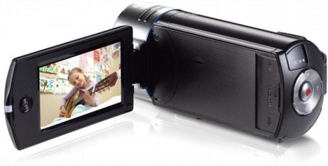 Видеокамера Samsung HMX-QF30BP. Фото 7