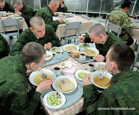 Питание в армии, фото twower.livejournal.com