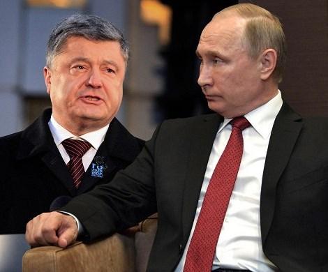 «А Путин в курсе?»: Порошенко высмеяли в сети из-за его предвыборного лозунга