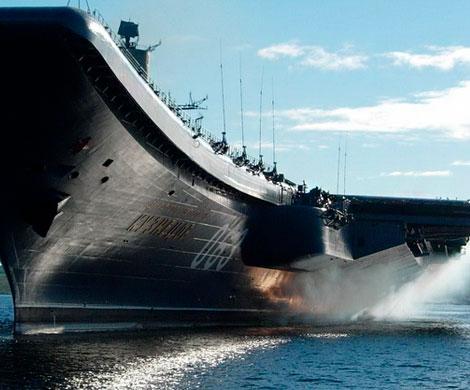 «Адмирал Кузнецов» получил 5-метровую пробоину