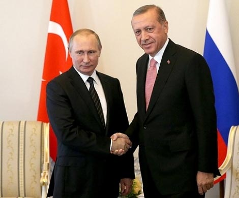 Эрдоган прокомментировал результаты встречи сПутиным