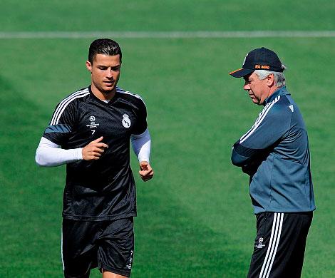 Анчелотти считает переход Роналду в «Ювентус» ошибкой