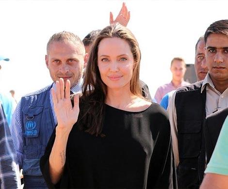 Анджелина Джоли иБрэд Питт начали бракоразводный процесс