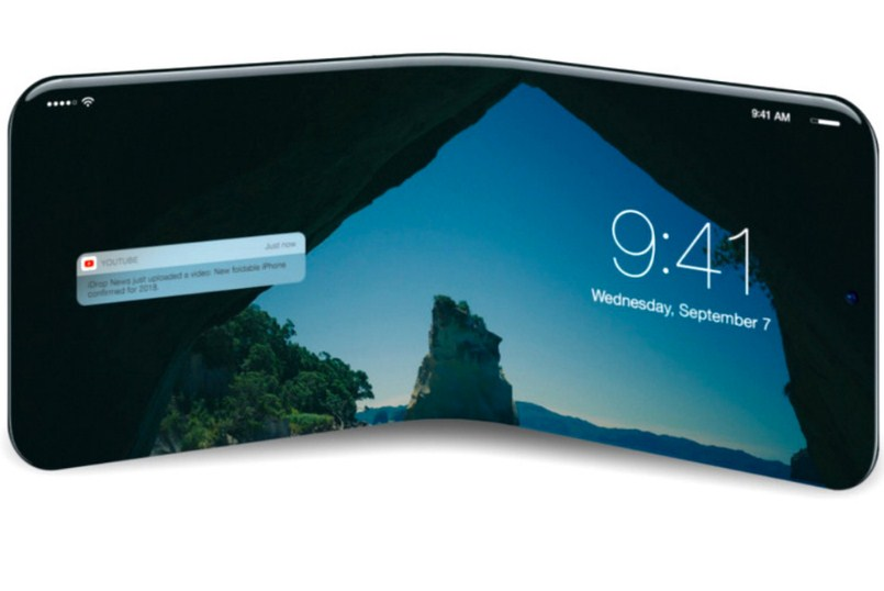 Складной iPhone будет реальностью в 2020