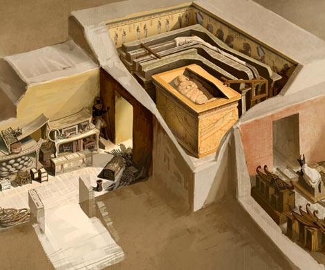 Поиски секретных комнат вгробнице Тутанхамона возобновят кконцу года - ученые