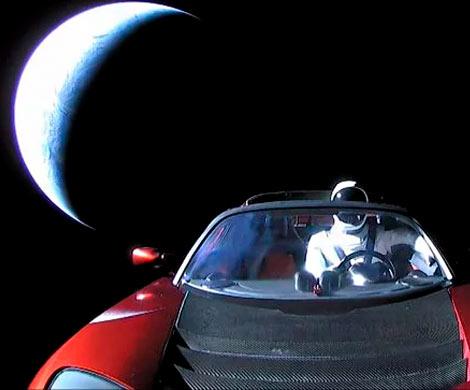 Запущенный вкосмос автомобиль Илона Маска внесли вкаталог спутников