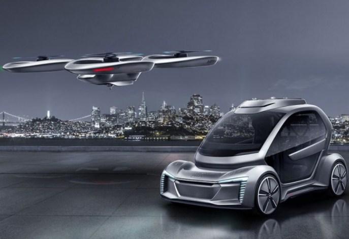 Audi и Airbus представили летающий автомобиль