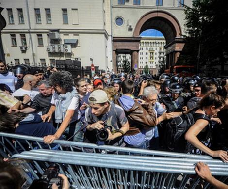 Больше половины задержанных участников незаконной акции в Москве – приезжие из дальних регионов