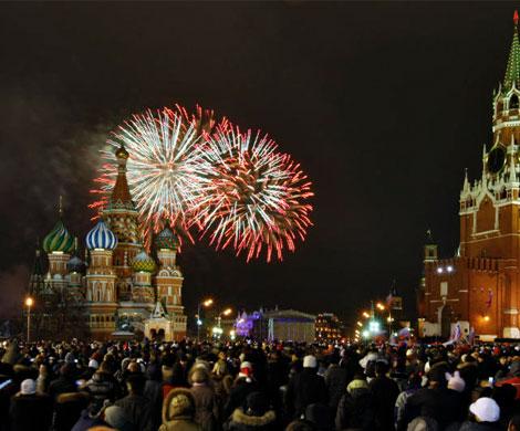 Центр Москвы перекроют в новогоднюю ночь