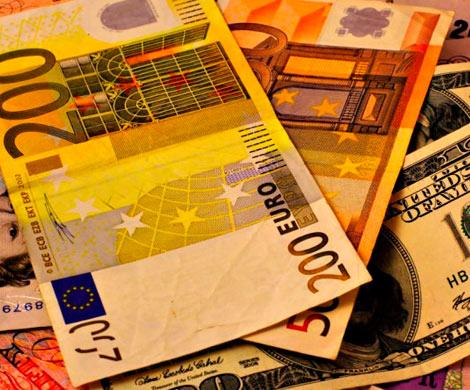 Евроскептики. ВрезервахРФ значительно уменьшилась доля евро