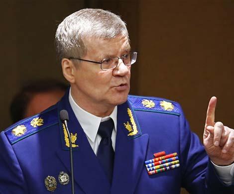 Генеральный прокурор России Юрий Чайка, фото pravdaurfo.ru