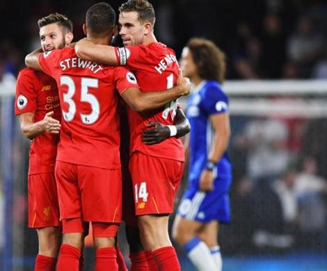 «Ливерпуль» и«Челси» победителя невыявили, Коста незабил пенальти