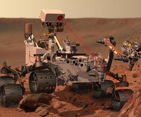Curiosity обнаружил на поверхности Марса золотые украшения