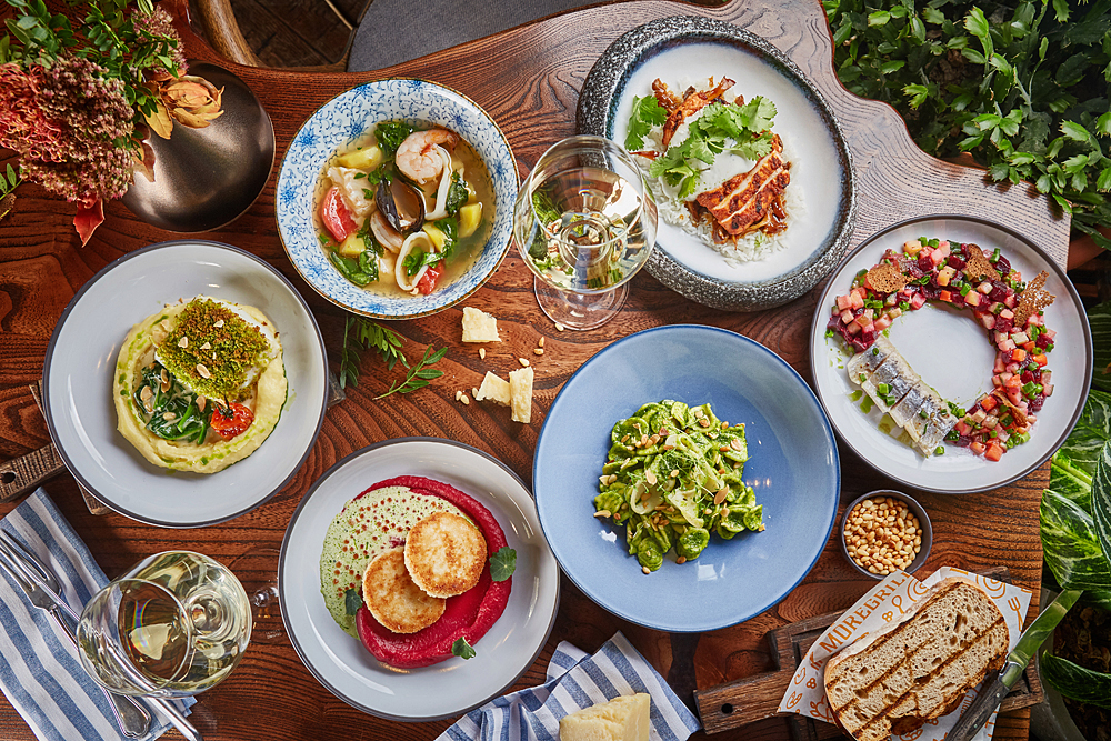 Daily Dinner в ресторане Moregrill: новое обеденное меню в комбинации с бокалом вина