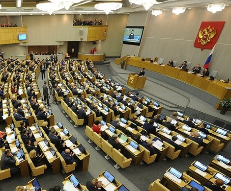 Депутаты Госдумы поспорили о принадлежности к власти