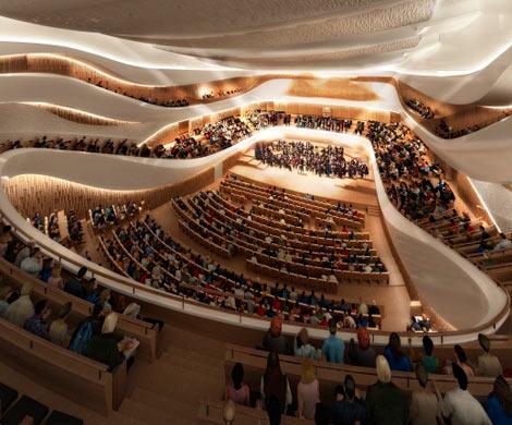Акустические тестирования концертного зала филармонии в«Зарядье» могут закончить доконца сентября