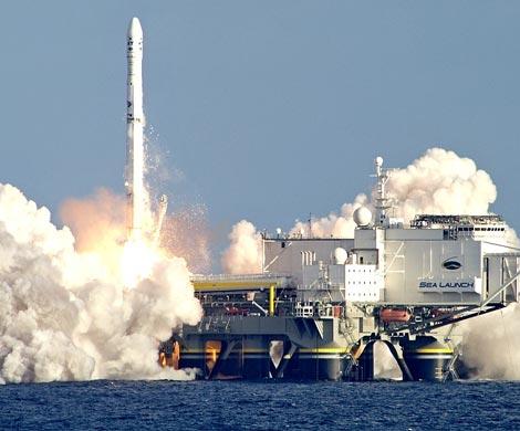 Появились слухи опродаже плавучего космодрома «Морской старт»