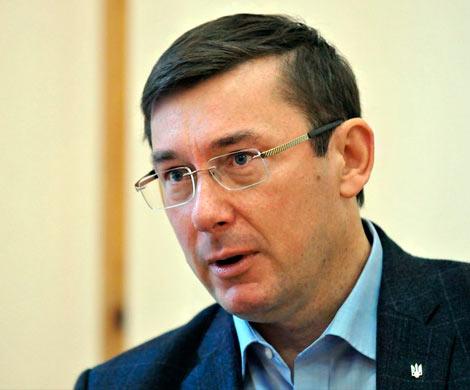 Луценко рассказал обоказываемом нанего давлении из-за дела Саакашвили