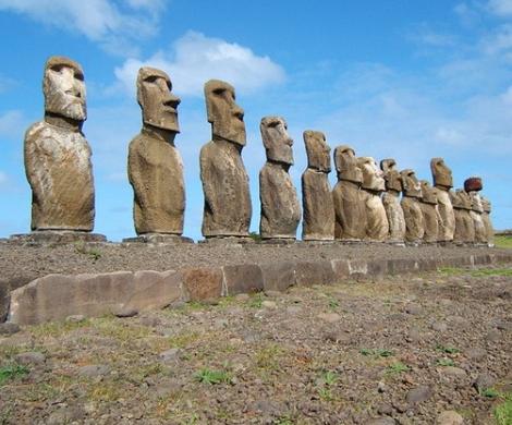 Геометки для ресурсов: ученые раскрыли тайну истуканов с острова Пасхи