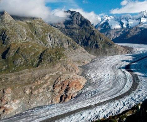 Глобальное потепление уничтожило половину ледников вгорах США