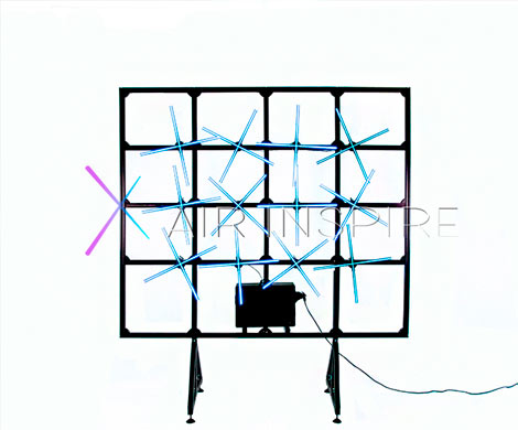 Голографический 3D вентилятор: необычная реклама от компании AIR INSPIRE
