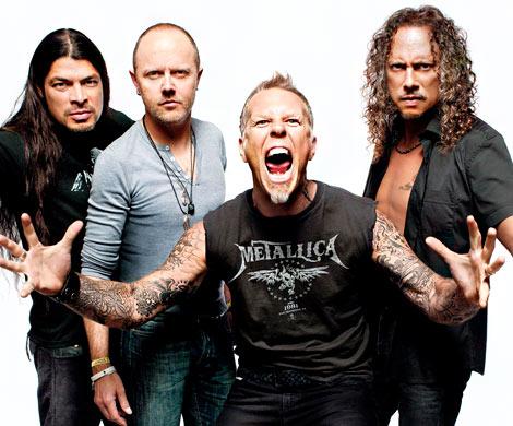 Группа Metallica стала лауреатом «Нобелевской премии замузыку»