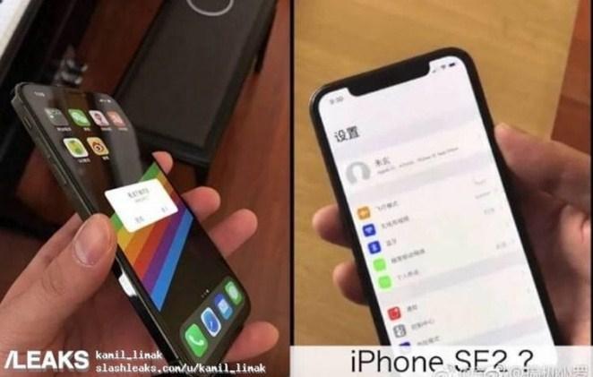Появились живые фотографии телефона iPhoneSE 2