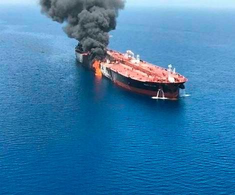 Иран отвергает обвинение со стороны США в нападении на нефтяные танкеры