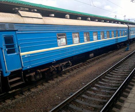 Изехавшего через Приамурье поезда выпал пассажир