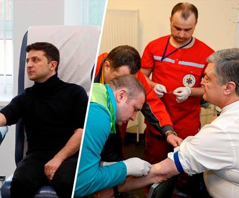 Кандидаты в президенты Украины прошли тест на наркотики