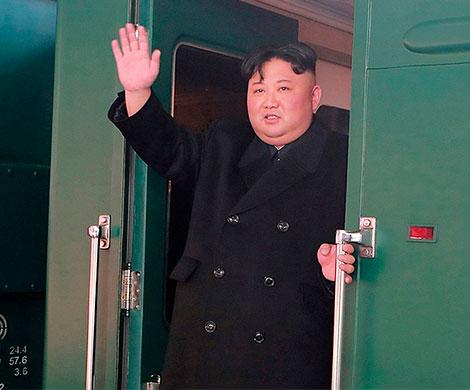 Ким Чен Ын приехал на встречу с Трампом на поезде