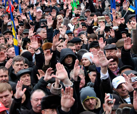 Количество протестных акций в РФ увеличилось на треть