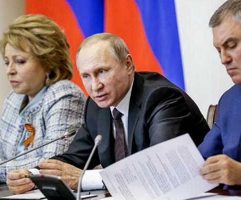 Конституция под «вопросом»?: первые итоги встречи Путина с руководством Госдумы и Совфеда