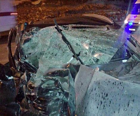 Влетевший вавтокран шофёр «Киа» скончался в клинике