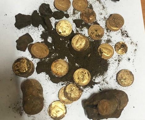 Крупнейший клад монет времен Николая II обнаружен в Москве