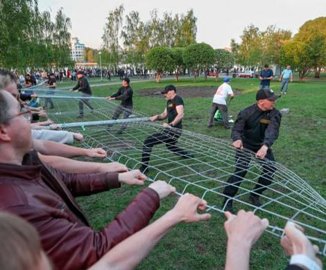 Майдан на заказ в столице Урала?