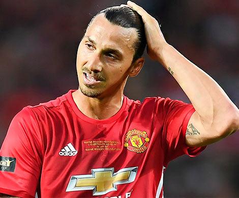 «Манчестер Юнайтед» расторг договор сЗлатаном Ибрагимовичем