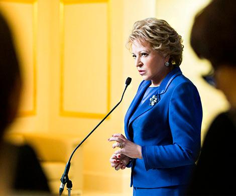 Матвиенко анонсировала новые отставки губернаторов в 2018г.