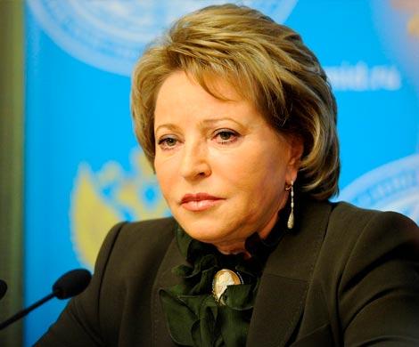 Матвиенко прокомментировала решение оприостановке уплаты взносов вСовет Европы