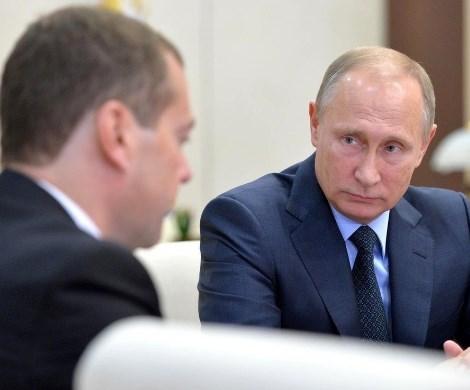 «Медведев пошел против Путина»: на Украине увидели раскол в российской власти
