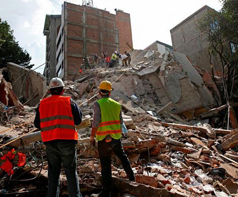 Новое мощнейшее землетрясение случилось  вМексике